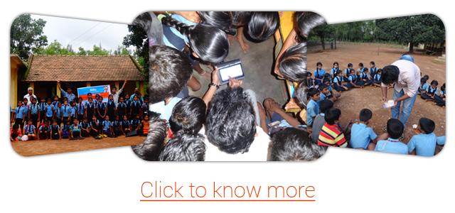 Amrita Serve Rural Internship Program organized by Amrita CREATE